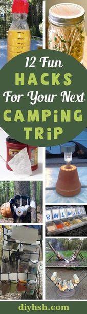12 roliga campinghackar