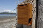 DIY Holz Briefkasten