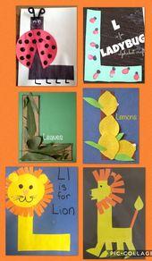 Preschool letter L ,  #Letter #lettercraftspreschoolalphabet #Preschool