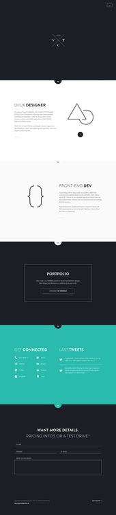 Sitio web personal – # personal #portfolio #website   – Kochen