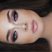 36 schöne Rose Gold Makeup-Ideen für Frauen