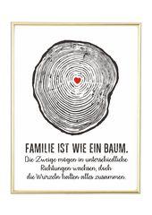 """Digitaldruck – """"BAUM"""" Kunstdruck, Poster, Geschenk – ein Designerstück von jolanswelt bei DaWanda"""