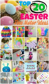 Top 20 Easter Fine Motor Ideas – repinned by @Pedi…