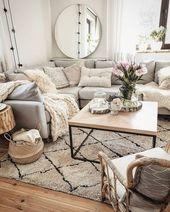 60 wygodnych skandynawskich pomysłów na dekorację salonu nowy salon 2019 23 »Ce … – Home Decor