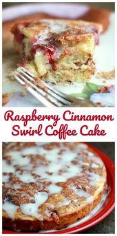 Lush Raspberry Cinnamon Swirl Coffee Cake – Cookies, Bars, Brownies, Pies, Cakes and More!