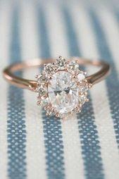 Detalles sobre el anillo de compromiso con solitario de diamante de talla ovalada blanca de 3.17 quilates en …   – different wedding rings
