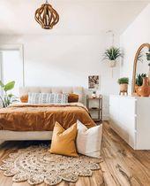 ↗ 87 Models Comfortable Bohemian Bedroom 20