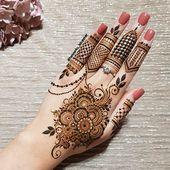 39 Beliebteste Henna Tattoo Einfach Designs