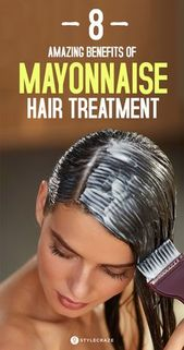 5 Amazing Benefits Of Mayonnaise Hair Treatment
