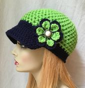 Seattle Seahawks Lime Green, Blue Womens Crochet Hat, Sports Team, Christmas gifts, Birthdays Gifts for Her JE660B2 – PĂLĂRIE