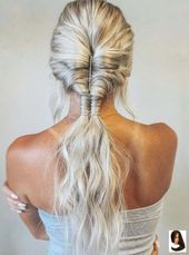 #Blonde #Bohemian #boho Hairstyle #Chic #Hair #Hairstyle