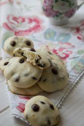 Cheesecake Cookies mit Chocolate Chips