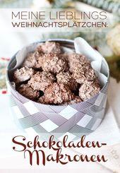 Die besten Schokoladenmakronen der Welt