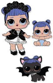 Midnight Lol Dolls Cartoon Profile Pics Big Eyes Art