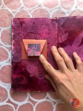 Art journaling and mindful creation from the heart