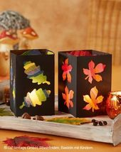 Für kreative Kids: Schöner bunter Bastel-Herbst