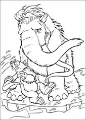 Pin By Pavlina Kubikova On Ice Cream Ausmalbilder Coloring Pages Ice Age Coloring Pictures