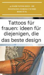 Tattoos für Frauen: Ideen für diejenigen, die das beste Design suchen #compass … – bois