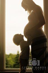 Babybauchfotos mit Geschwistern   – Babybauch mit Geschwistern