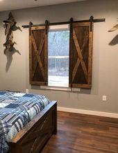 47 Entspannende rustikale Lake House Schlafzimmer Deko-Ideen
