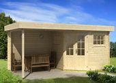 Kaufen Sie das 5-Eck-Gartenhaus Carl-28 mit Terrasse & Sprossen für Fenster & Türen …   – Man Caves