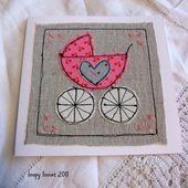 Baby Cards Baby Girl Congratulations card - Folksy