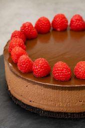 No-Bake Chocolate Cheesecake #cheesecake – cheesecake recipes