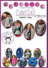 Freebook: Carl (a) pour une veste softshell   – Baby