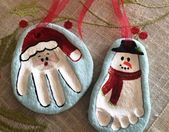 90 Christmas salt dough Ideas that you can easily imitate with children