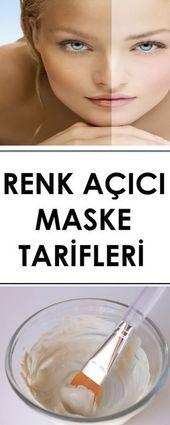 Renk Açıcı Maske Tarifleri – www.vipbakim.com