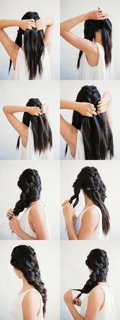 11 schöne Frisur Ideen, die Sie zu Hause ausprobieren sollten #die # Frisur #home #Ideen