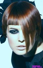 18 Kupfer Brünette Haarfarbe Ideen für kurze Haarschnitte im Frühjahr 2019