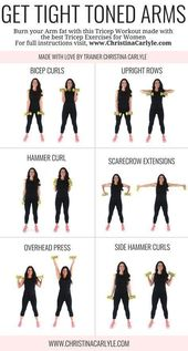 Arm Workout for Women that Want Tight Toned Arms -…