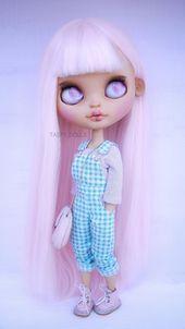 Beispiel für eine benutzerdefinierte Auflistung. Normaler Preis 550, kontaktieren Sie mich für weitere Informationen. OOAK Blythe Puppe Outfit Kleid Neo Blythe Piercing Geburtstagsgeschenk   – Anime art