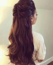 12+ Hairstyles Wedding Curls Half Up