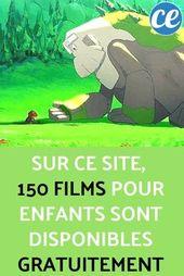 Sur Ce Web site, 150 Movies Pour Enfants Sont Disponibles GRATUITEMENT.