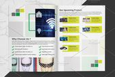 Minimal Technology Brochure V831 , #Sponsored, #Photo#included#download#Template #affiliate