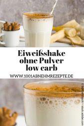 Protein Shake zum Abnehmen ohne Puder
