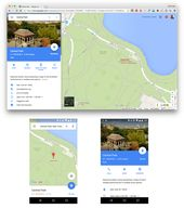 Google Maps' new desktop side panel is a great example of merging desktop an…