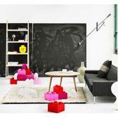 Lego® Storage Aufbewahrungsbox Brick 4 pink 25 x 25 cm, h 18 cm Room CopenhagenRoom Copenhagen – Products