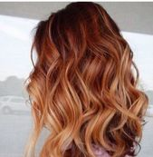 Trendy hair color balayage red copper strawberry blonde ideas  – Hair styles