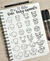 Bullet Journal Doodles: 24 Amazing Doodle Ideas Fo…