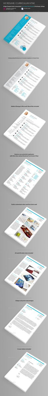 CV Resume Set Resume and Stationery - how to set a resume