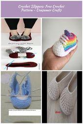 Fur Pom Pom Crochet Slippers Pattern – free fast and easy crochet pattern Bottes…