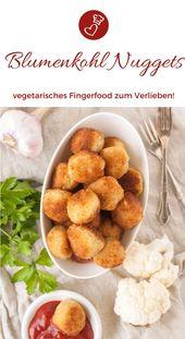 Blumenkohl-Nuggets Rezept – Snack, den Kinder und Erwachsene lieben – herzelieb – der Foodblog mit Herz | Germany Food Blog