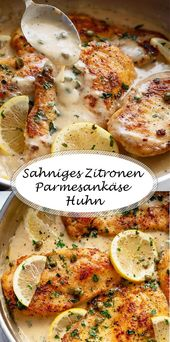 Zitronen von Parmesanhähnchen - #parmesanhahnchen #zitronen - #new
