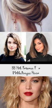 88 Hit Hairstyles For Medium Length Hair