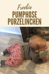 Die Pumphose Purzelinchen – einfachste Hose ever in der Version 2.0