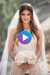 Bridal Hairstyles Open Side with Veil 2018 | Simple hairstyles, # bride hairstyles #easy …