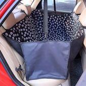 Waterproof dog hammock car seat cover + free seat belt – авто